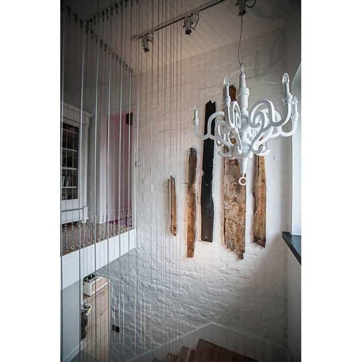 DOM 1: styl , w kategorii Korytarz, przedpokój zaprojektowany przez 2kul INTERIOR DESIGN,Nowoczesny Cegły
