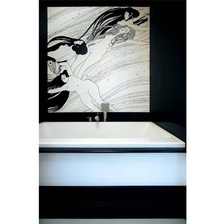 DOM 1: styl , w kategorii Łazienka zaprojektowany przez 2kul INTERIOR DESIGN,Nowoczesny Szkło