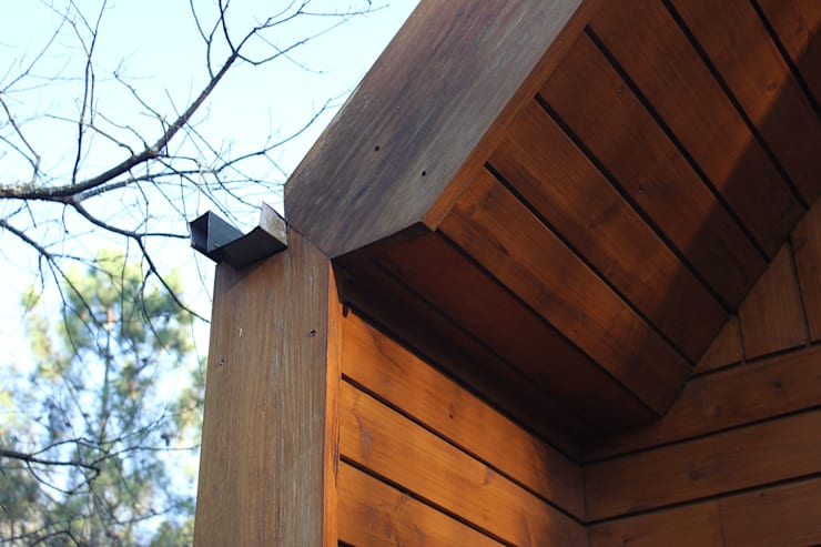 NORMA | Nova Arquitectura em Madeira (New Architecture in Wood): rustik tarz tarz Evler