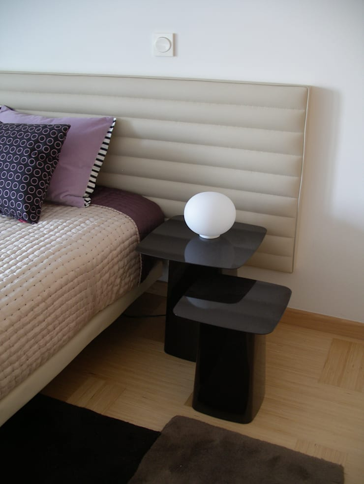 Apartamento de férias EN: Quartos  por Space Invaders _ Arquitectura e Design