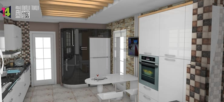 imza decor – akrilik mutfak:  tarz Mutfak