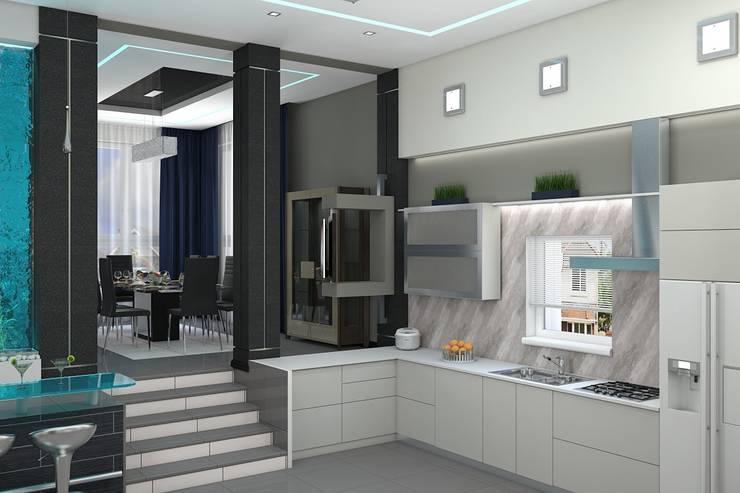 Кухня: Кухни в . Автор – Дизайн студия Жанны Ращупкиной, Минимализм