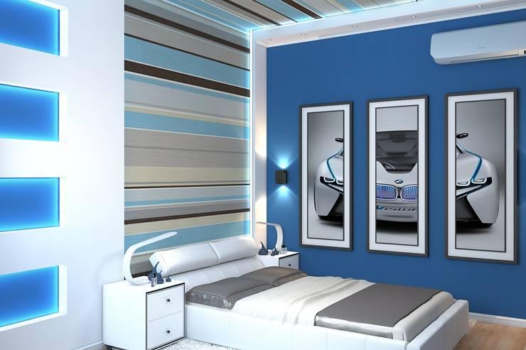 Habitaciones infantiles de estilo  por Дизайн студия Жанны Ращупкиной