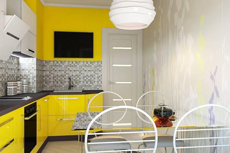 Кухня: Кухни в . Автор – Дизайн студия Жанны Ращупкиной