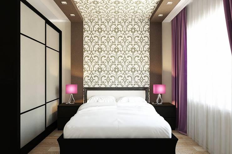 Спальня: Спальни в . Автор – Дизайн студия Жанны Ращупкиной
