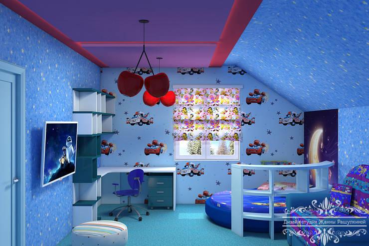 غرفة الاطفال تنفيذ Дизайн студия Жанны Ращупкиной