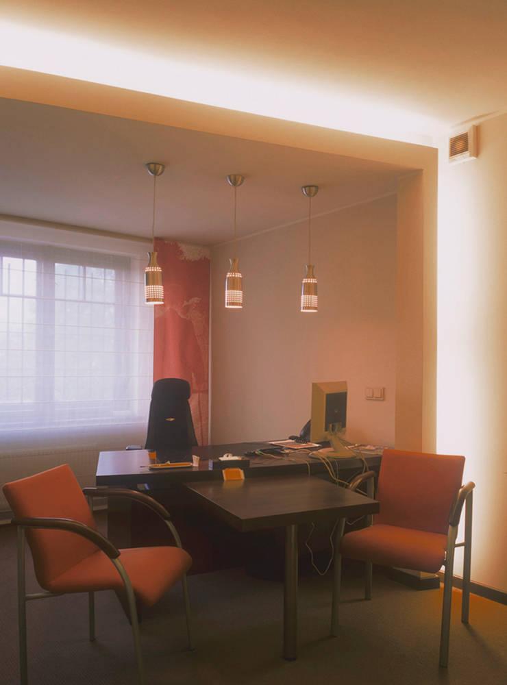 Biuro w Gdyni: styl , w kategorii  zaprojektowany przez Grafick sp. z o. o.,