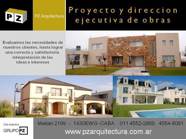 Case moderne di Grupo PZ Moderno