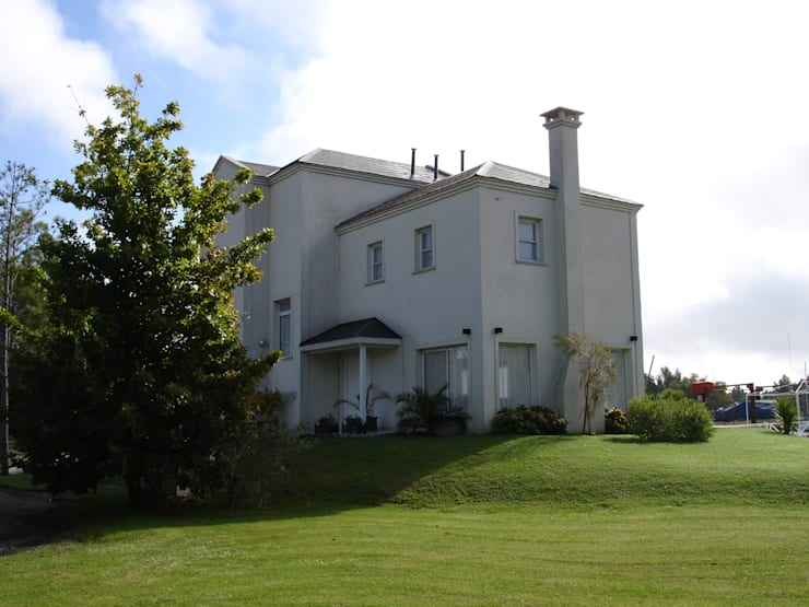 Casa en Barrio Nautico: Casas de estilo moderno por Grupo PZ