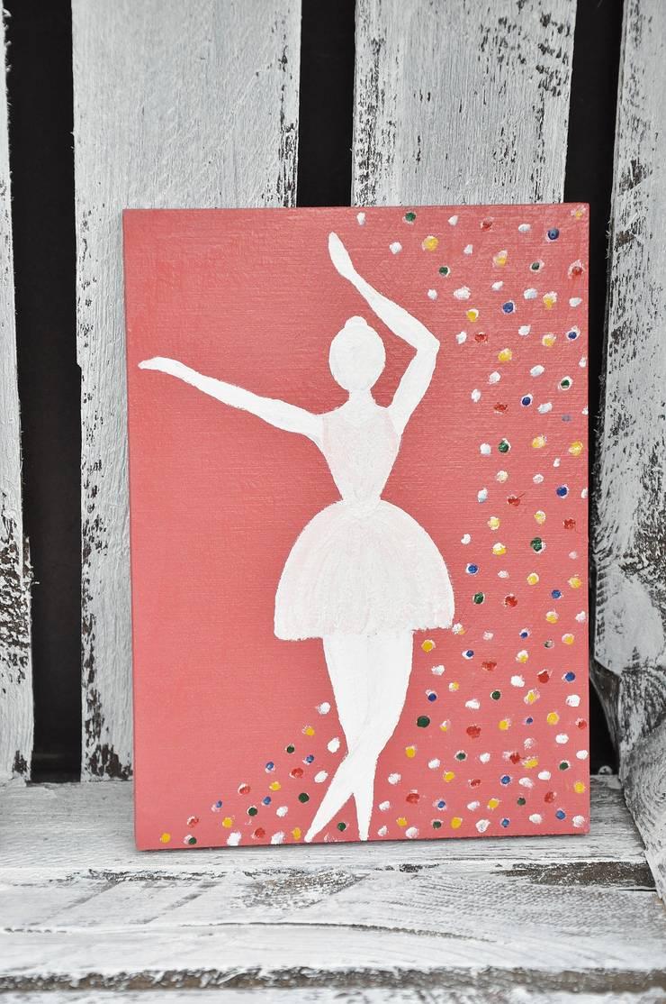 Obrazek Baletnica: styl , w kategorii Pokój dziecięcy zaprojektowany przez Miss Vintage