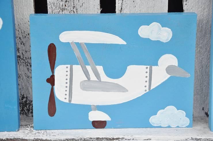Samolot: styl , w kategorii Pokój dziecięcy zaprojektowany przez Miss Vintage