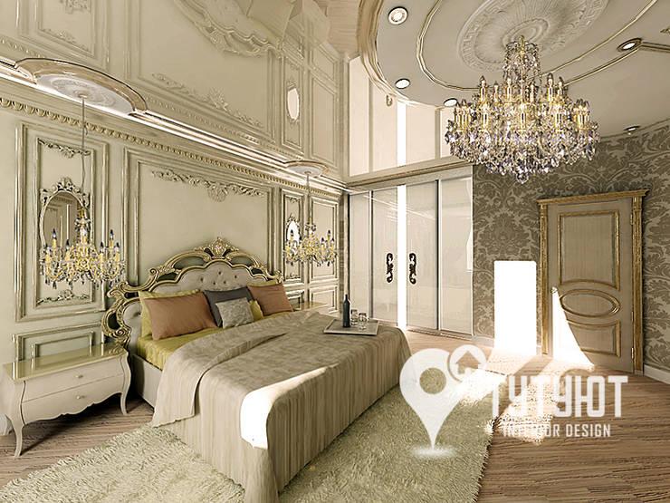 Квартира в ЖК <q>Антарес</q> в центре Екатеринбурга: Спальни в . Автор – Interior Design Studio Tut Yut