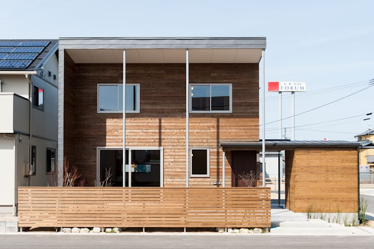 Projekty,  Domy zaprojektowane przez 株式会社山口工務店
