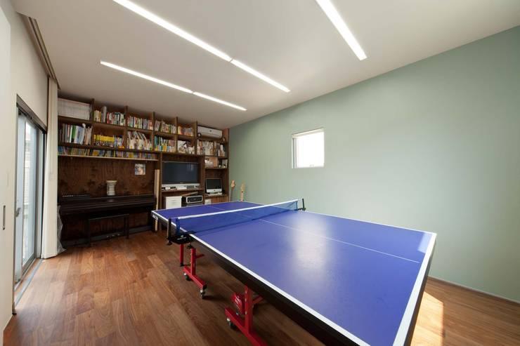 二俣川の家: ディンプル建築設計事務所が手掛けた和室です。