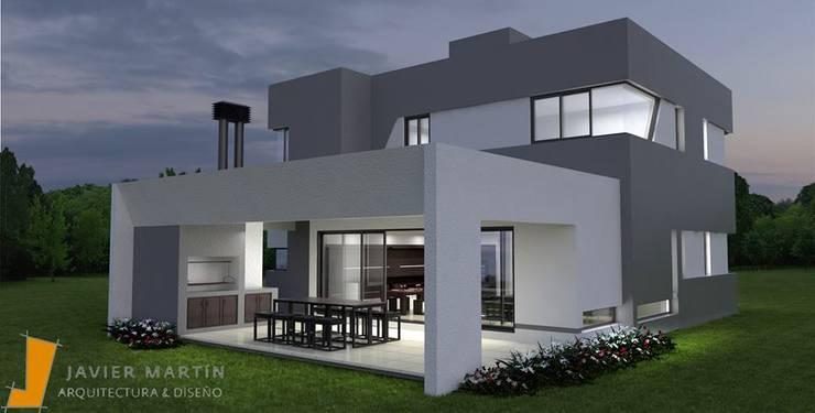 Algunos proyectos del Estudio: Casas de estilo  por Javier Martín