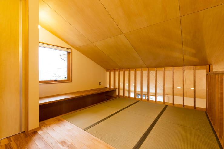 2階フリースペース(畳コーナー): 株式会社山口工務店が手掛けた和室です。