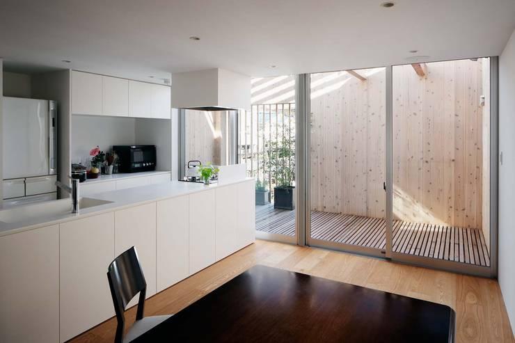 駒沢の家: ディンプル建築設計事務所が手掛けたキッチンです。