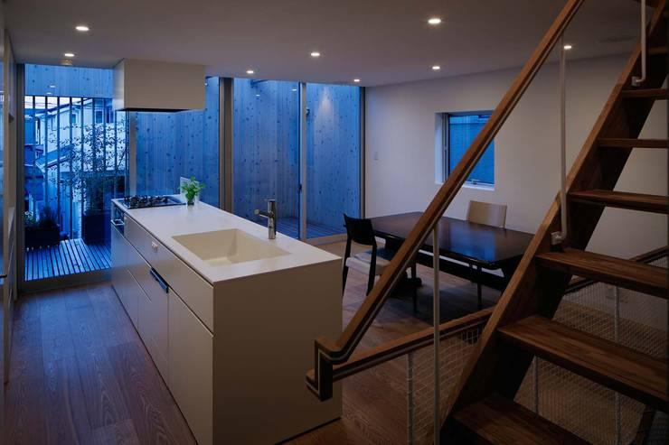 Kitchen by ディンプル建築設計事務所