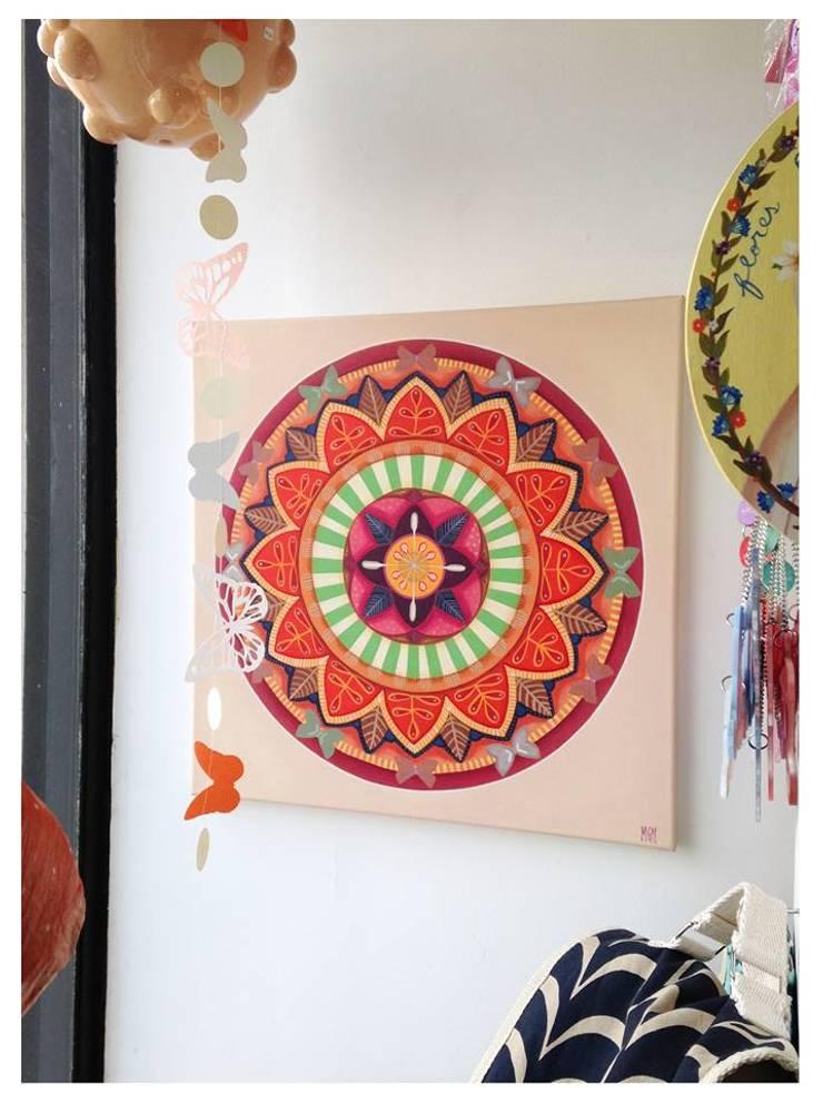 Espacios decorados por Cuantatienda: Livings de estilo  por Cuantatienda