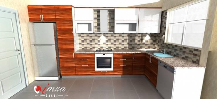 imza decor – Mutfak Dolabı:  tarz Mutfak, Modern