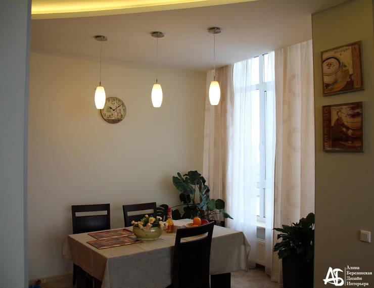 квартира на 120 кв.м в ЖК <q>Французский</q>: Столовые комнаты в . Автор – Алина Березинская