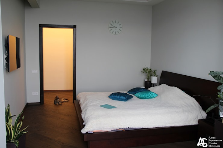 квартира на 120 кв.м в ЖК <q>Французский</q>: Спальни в . Автор – Алина Березинская