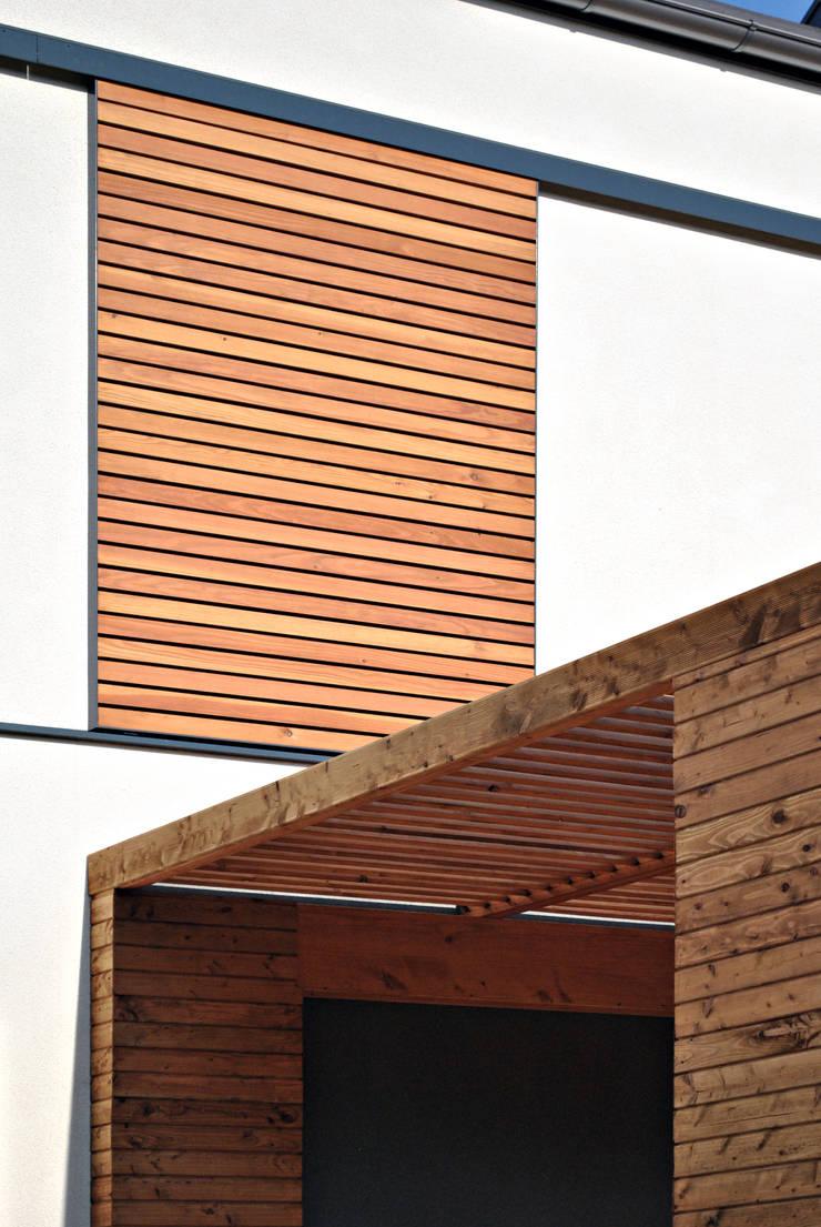 Dom w Olimpinie, koło Bydgoszczy: styl nowoczesne, w kategorii Domy zaprojektowany przez AAYE Architekci