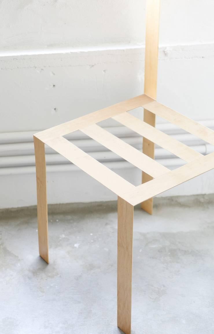 minimalist  by ディンプル建築設計事務所, Minimalist Solid Wood Multicolored