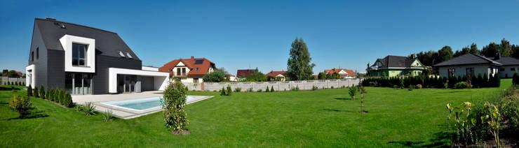 Dom w Bydgoszczy : styl , w kategorii Domy zaprojektowany przez AAYE Architekci