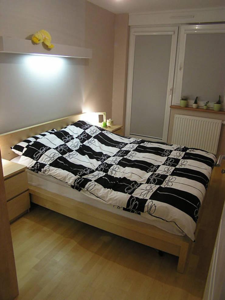 Wnetrze: styl , w kategorii Sypialnia zaprojektowany przez MMM Wnętrza