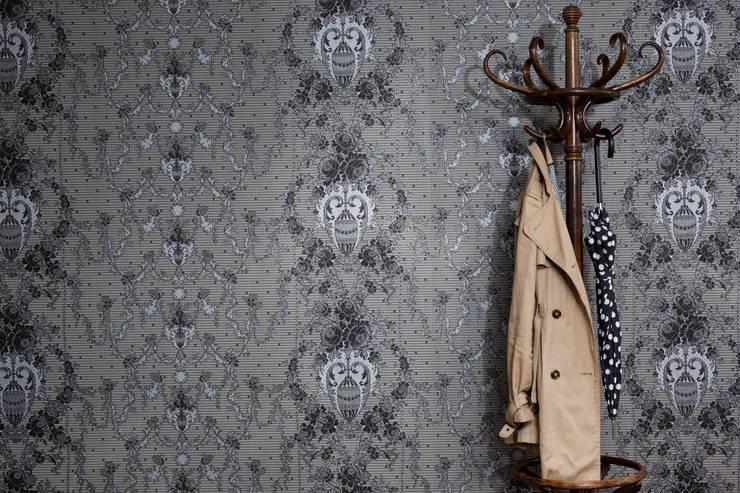 tapeta MYB: styl , w kategorii Ściany i podłogi zaprojektowany przez Wzorywidze.pl