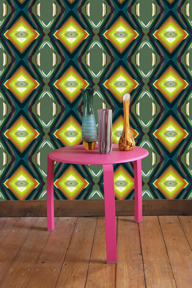 Parris Wakefield Additions: styl , w kategorii Ściany i podłogi zaprojektowany przez Wzorywidze.pl