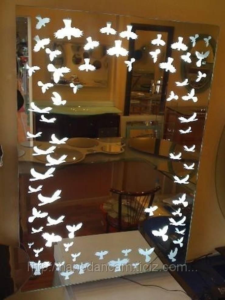 Hanedan Cam Ayna Dekorasyon – Hanedan Ayna: modern tarz , Modern