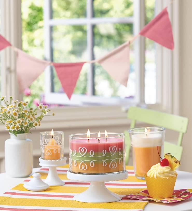 Just Desserts - Sweet & Yummy de PartyLite Moderno