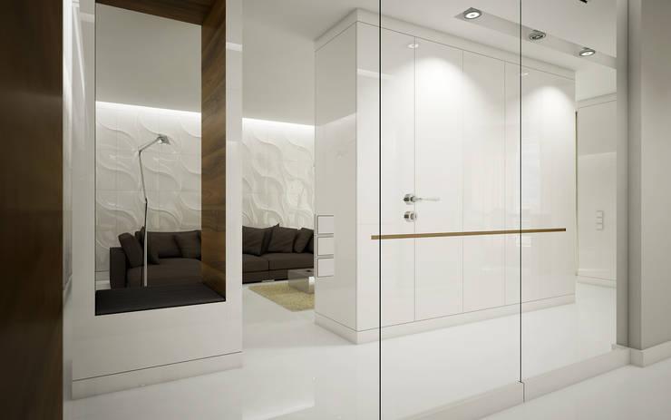 Mieszkanie L: styl , w kategorii Korytarz, przedpokój zaprojektowany przez NatusDESIGN Pracownia Architektury Wnętrz