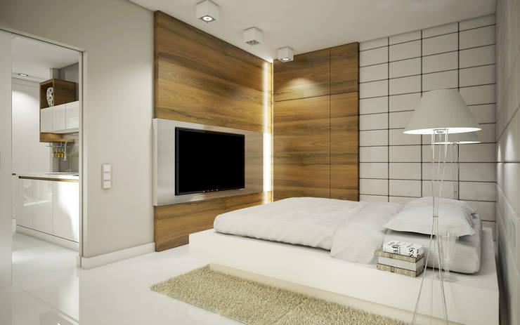 Mieszkanie L: styl , w kategorii Sypialnia zaprojektowany przez NatusDESIGN Pracownia Architektury Wnętrz