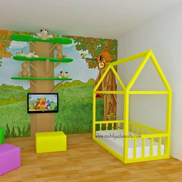 MOBİLYADA MODA  – Mobilyada Moda Montessori Yer Yatağı : modern tarz , Modern Ahşap Ahşap rengi
