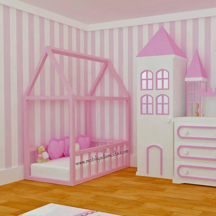 MOBİLYADA MODA  – Mobilyada Moda Montessori Yer Yatağı: modern tarz , Modern Ahşap Ahşap rengi