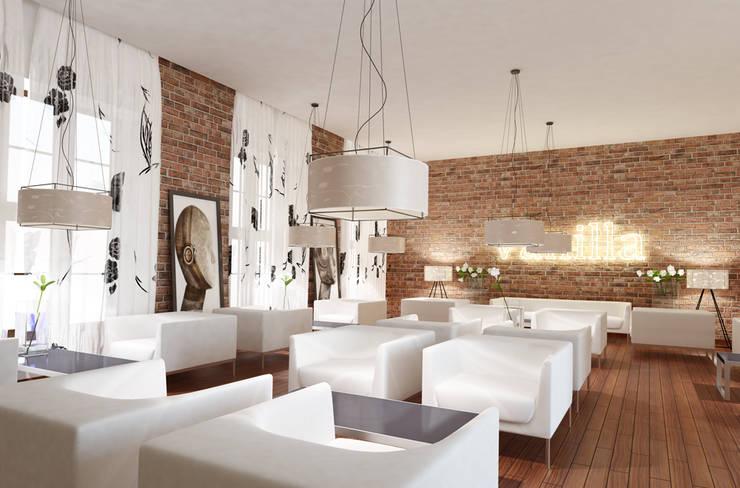 Koncepcja aranżacji wnętrz, klub Vanilla, Wrocław: styl , w kategorii  zaprojektowany przez Majchrzak Pracownia Projektowa