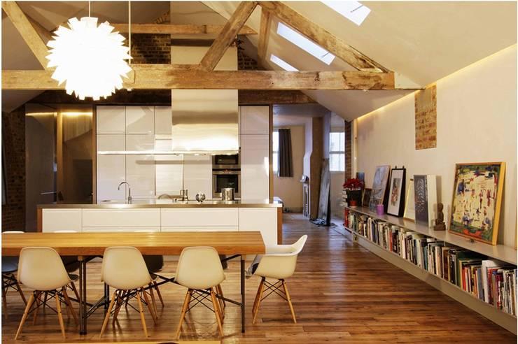 St Michaels Street Salle à manger moderne par Henning Stummel Architects Ltd Moderne