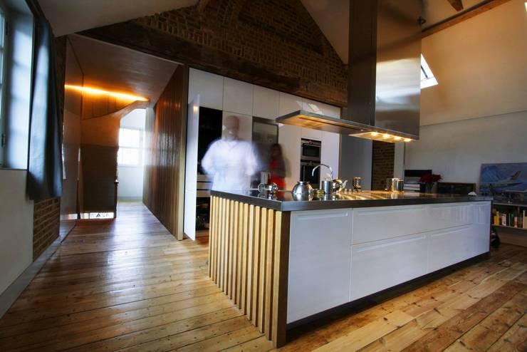 St Michaels Street Cuisine moderne par Henning Stummel Architects Ltd Moderne