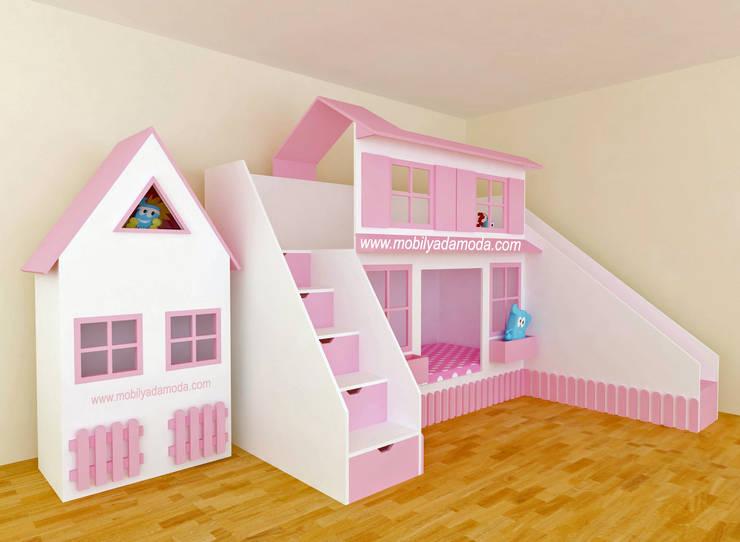 MOBİLYADA MODA  – Mobilyada Moda Çocuklara Özel Evler:  tarz Çocuk Odası, Modern Ahşap Ahşap rengi