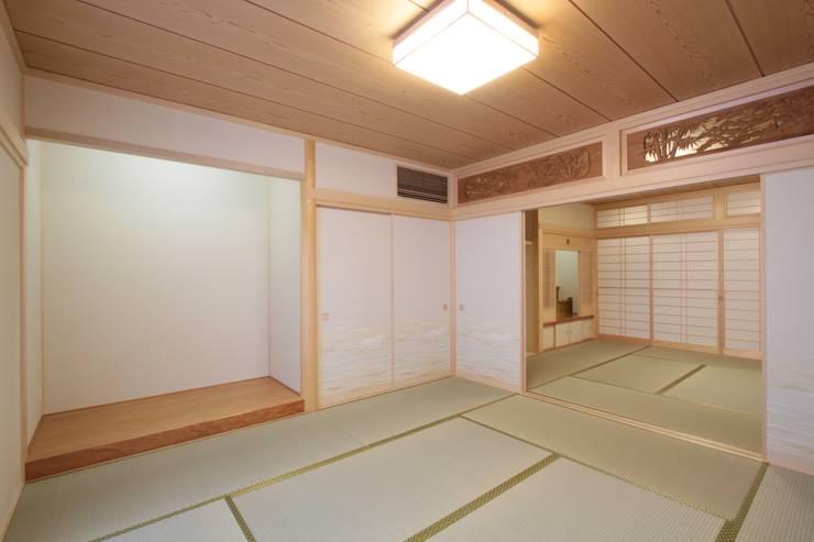 市川市O邸: k-endoが手掛けた寝室です。