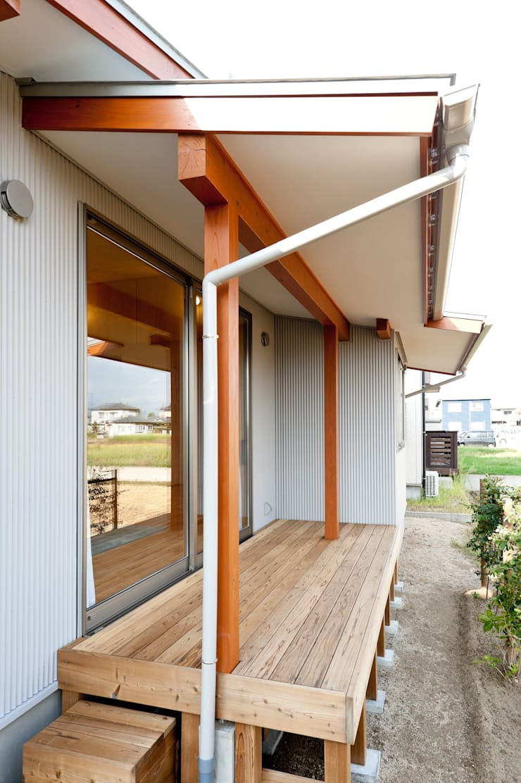Terrace by 株式会社山口工務店, Modern