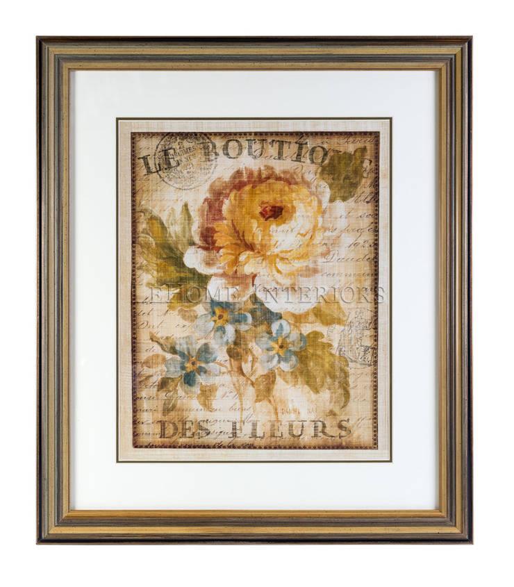 Постер P346: Произведения искусства в . Автор – LeHome Interiors