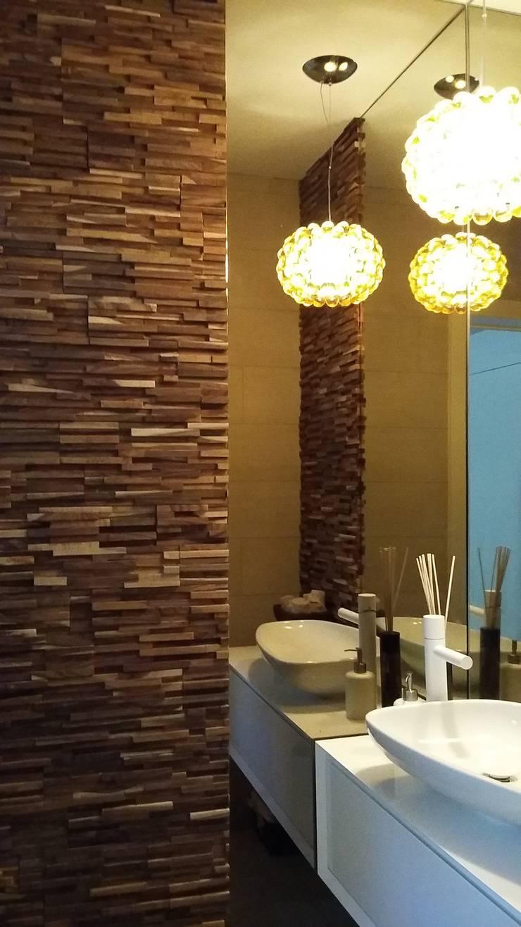 Detalhes – Arquitectura de Interiores: Casas de banho  por Space Invaders _ Arquitectura e Design