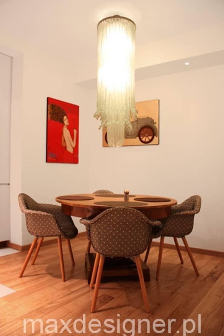 Apartament pod Wawelem : styl , w kategorii Jadalnia zaprojektowany przez MAXDESIGNER