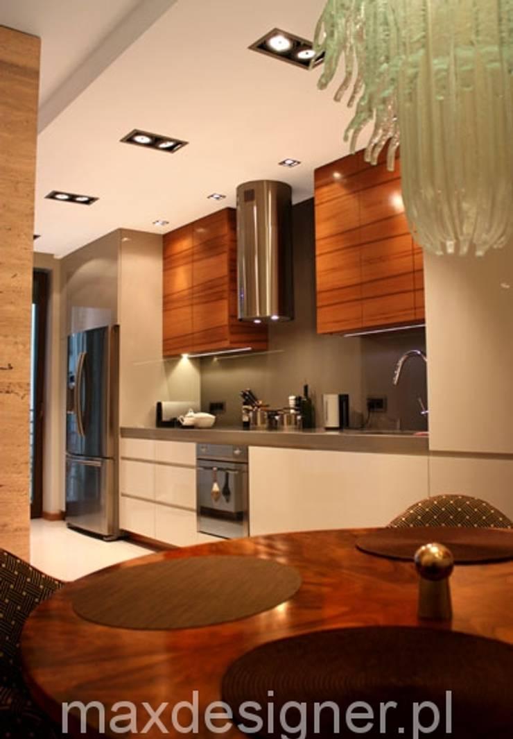 Apartament pod Wawelem : styl , w kategorii Kuchnia zaprojektowany przez MAXDESIGNER
