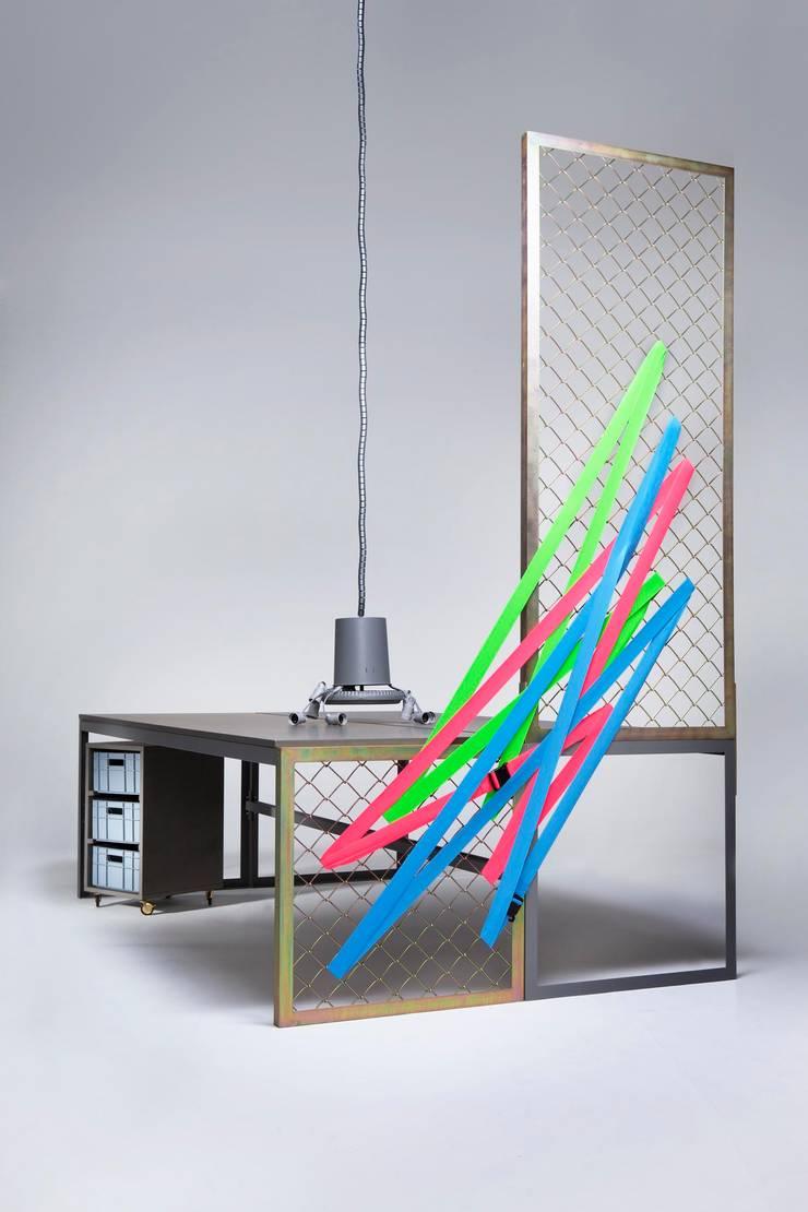 BEZA: styl , w kategorii Domowe biuro i gabinet zaprojektowany przez BEZA PROJEKT