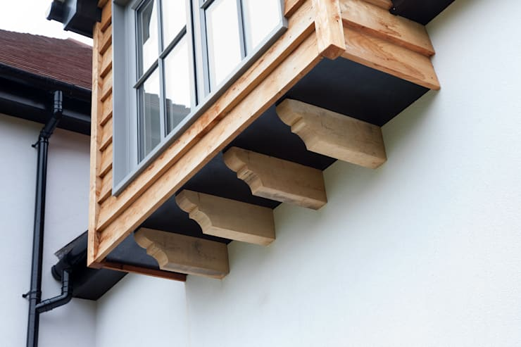 Terrasse de style  par C7 architects, Moderne